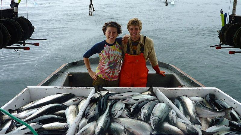 Día de pesca de salmón salvaje, Alaska