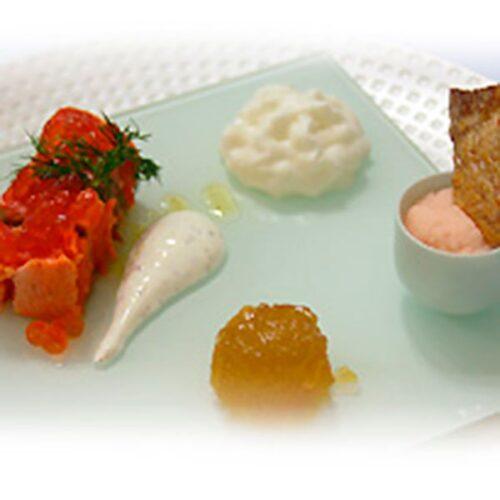 Salmón Salvaje de Alaska marinado con mostaza