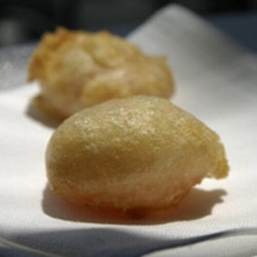 Huevas de Salmón Salvaje en tempura