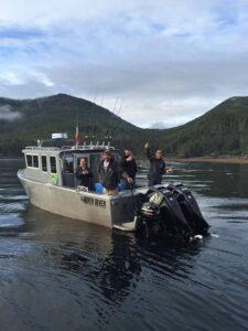 Barco de pesca Alaska