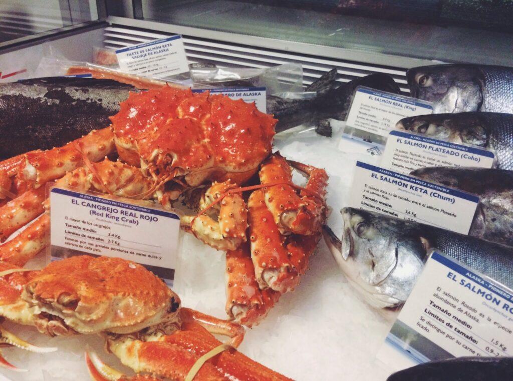 Etichettatura Alaska Seafood