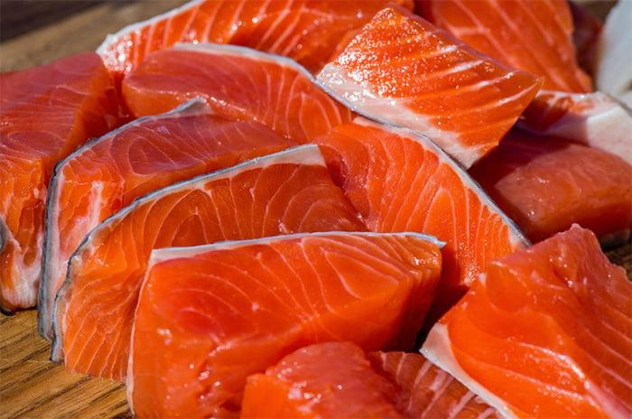 Salmón salvaje en tu salud