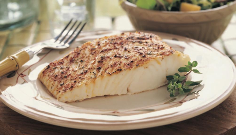 Cocinar pescado congelado con Salamandra